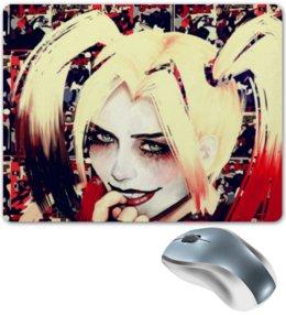 "Коврик для мышки ""Харли Квинн / Harley Quinn"" - рисунок, джокер, кино, бэтмен, харли"