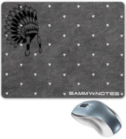 """Коврик для мышки """"SaMY_NOTES \west style pc\"""" - арт, стиль, оригинально"""