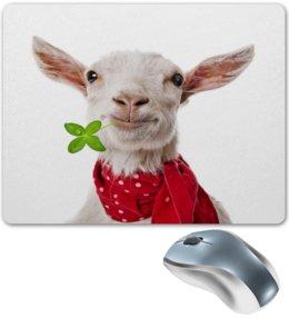 """Коврик для мышки """"Козел"""" - животные, природа, звери, козел, козлик"""