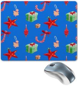 """Коврик для мышки """"новый год"""" - конфеты, новый год, подарки, рождество, christmas"""