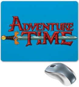 """Коврик для мышки """"Adventure Time / Время Приключений """" - арт, adventure time, время приключений"""