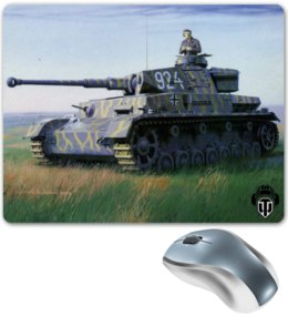 "Коврик для мышки ""World of Tanks "" - games, игры, игра, game, рисунок, world of tanks, танки, tank, wot, tanks"