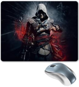 "Коврик для мышки ""Assassin`s creed 4 "" - black flag, кредо ассасина, ас4, action-adventure, video games, ассасин, assassin"
