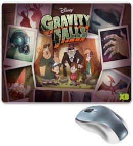 """Коврик для мышки """"Gravity Falls"""" - gravity falls, gf"""