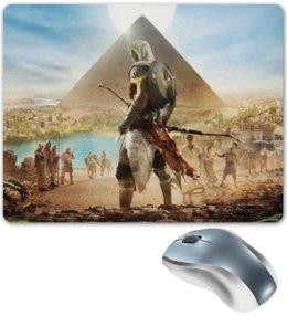 """Коврик для мышки """"Ассасин Крид"""" - assassins creed, египет, пирамида, ассасин, ассасин крид"""