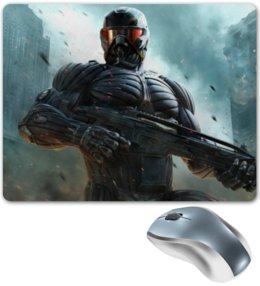 """Коврик для мышки """"Коврик для поклонников игры Crysis"""" - арт, в подарок, оригинально, парню"""