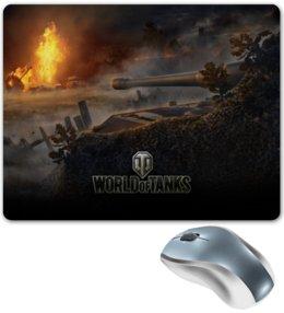 """Коврик для мышки """"для любителей WOT"""" - world of tanks, танки, wot, tanks, video games"""