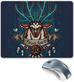 """Коврик для мышки """"Forest Spirit. Лесной Дух"""" - рисунок, олень, фэнтэзи, лесной дух"""
