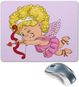 """Коврик для мышки """"День Св. Валентина"""" - валентинка, купидон, день св валентина"""