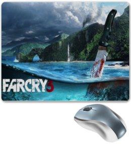 """Коврик для мышки """"Far Cry 3 коврик для мыши"""" - прикольно, прикол, арт, приколы, стиль, популярные, far cry, far cry 3"""