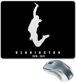 "Коврик для мышки ""Chester Bennington"" - рок, linkin park, линкин парк, chester, честер"