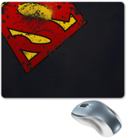 "Коврик для мышки ""Superman"" - арт, superman"