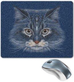 """Коврик для мышки """"Котик"""" - кот, животное"""
