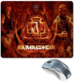 "Коврик для мышки ""Раммштайн"" - рок и метал, раммштайн"