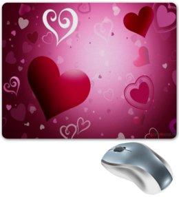 "Коврик для мышки ""hearts"" - heart"