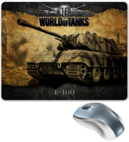 "Коврик для мышки ""World of Tanks"" - игры, world of tanks, атрибутика world of tanks, t, wot"