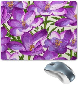 """Коврик для мышки """"Цветы"""" - лето, цветы, summer, природа, тропики"""