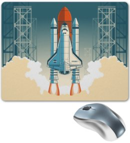 """Коврик для мышки """"Покорение космоса"""" - космос, наука, астрономия, the spaceway"""