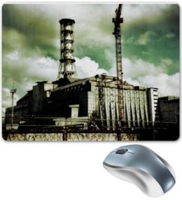 """Коврик для мышки """"Чернобыль"""" - фото, чернобыль, припять, саркофаг, чаэс"""