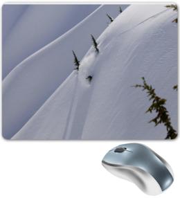 "Коврик для мышки ""snowboard time"" - красота, горы, сноуборд, snowboard, экстрим, extreme, ride, каталка"