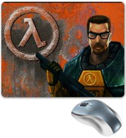 """Коврик для мышки """"Half-Life коврик для мыши"""" - half-life, gordon freeman"""