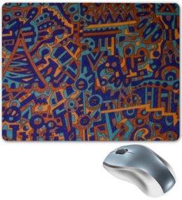 "Коврик для мышки ""y7t6ggjlla11zzz"" - арт, узор, абстракция, фигуры, текстура"