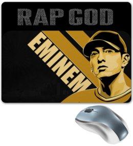 """Коврик для мышки """"Eminem"""" - usa, rap god, 8 миля, lose yourself, фристайл"""