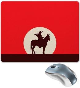 """Коврик для мышки """"Ковбой"""" - кино, ковбой, дикий запад, вестерн"""