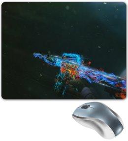 """Коврик для мышки """"Компьютерные игры"""" - игры, огонь, компьютерные игры, краски, оружие"""