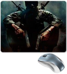 """Коврик для мышки """"Call of Duty art"""" - арт, прикольные, в подарок, оригинально, парню"""