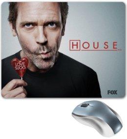 """Коврик для мышки """"""""Доктор Хаус"""""""" - house md, доктор хаус, хью джекман, hugh laurie"""