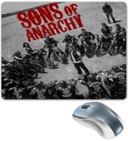"Коврик для мышки ""Сыны анархии / Sons of Anarchy"" - рисунок, кино, сериал, сыны анархии"