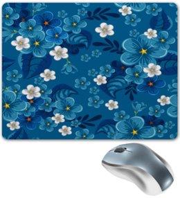 """Коврик для мышки """"Цветки"""" - цветы, весна, природа, цветочки, узор"""