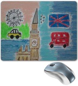 "Коврик для мышки ""Лондон"" - лондон, англия"