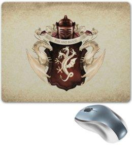 """Коврик для мышки """"Таргариены"""" - герб, игра престолов, таргариены"""