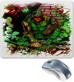 "Коврик для мышки ""Pop Art"" - арт, комиксы, стрела, dc"