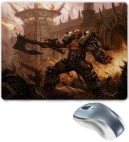 """Коврик для мышки """"warcraft"""" - арт, игры, компьютер, warcraft"""