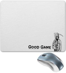 """Коврик для мышки """"Good Game Смерть """" - стильно, коврик для мыши, гейминг, хорошая игра, компьютернык игры"""