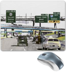 """Коврик для мышки """"Американский хайвей"""" - сша, путешествия, шоссе, дороги, хайвеи"""