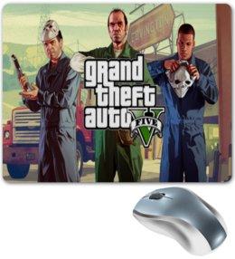 "Коврик для мышки ""Grand theft auto V (GTA5)"" - gta"