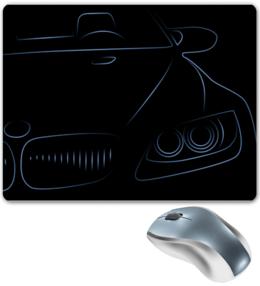 """Коврик для мышки """" bmw """" - арт, авто, машина, car, bmw"""
