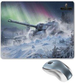 "Коврик для мышки ""T110E4  world of tanks   "" - world of tanks, танк, танки, wot, вот"