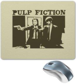 """Коврик для мышки """"Pulp Fiction"""" - кино, фильм, тарантино, криминальное чтиво, pulp fiction"""