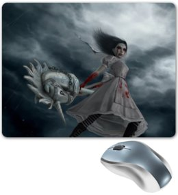 "Коврик для мышки ""Alice Madness"" - pony, alice, alice madness returns, hysteria"