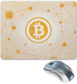 "Коврик для мышки ""Биткойн"" - биткойн, bitcoin, криптовалюта, cryptocurrency"