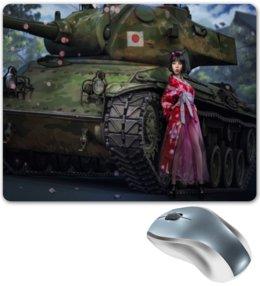 """Коврик для мышки """"танки"""" - танки, девушки и танки"""