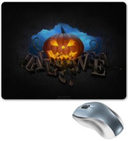 "Коврик для мышки ""Halloween"" - хэллоуин, праздники, 31 октября, pumpkin"