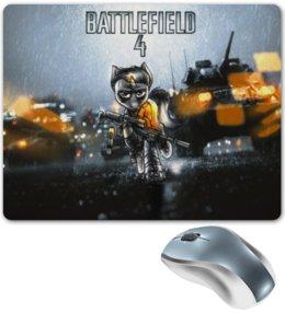"Коврик для мышки ""MLP Batllefield4"" - арт, war, pony, пони, battlefield"