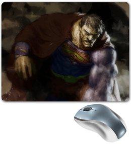 "Коврик для мышки ""Бизарро"" - комиксы, superman, супермэн, dc comics, bizarro"