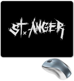 "Коврик для мышки ""«St. Anger»"" - metallica, металлика, st anger"